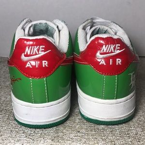 Nike AIR FORCE 1 shoes Size 8 Mr. Cartoon Heineken